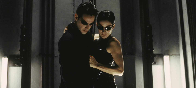 Still from The Matrix. Image courtesy of Warner Bros.