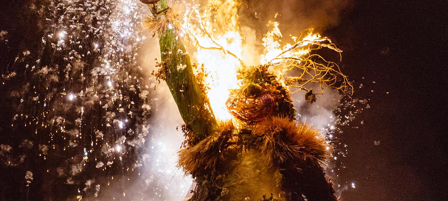 Image result for burning of greenman