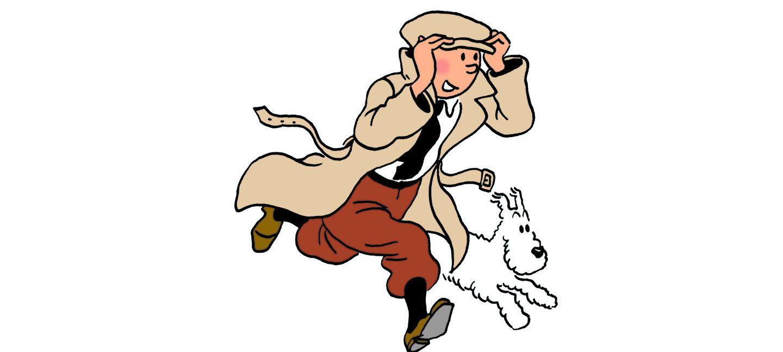 Tintin - © Hergé-Moulinsart 2015