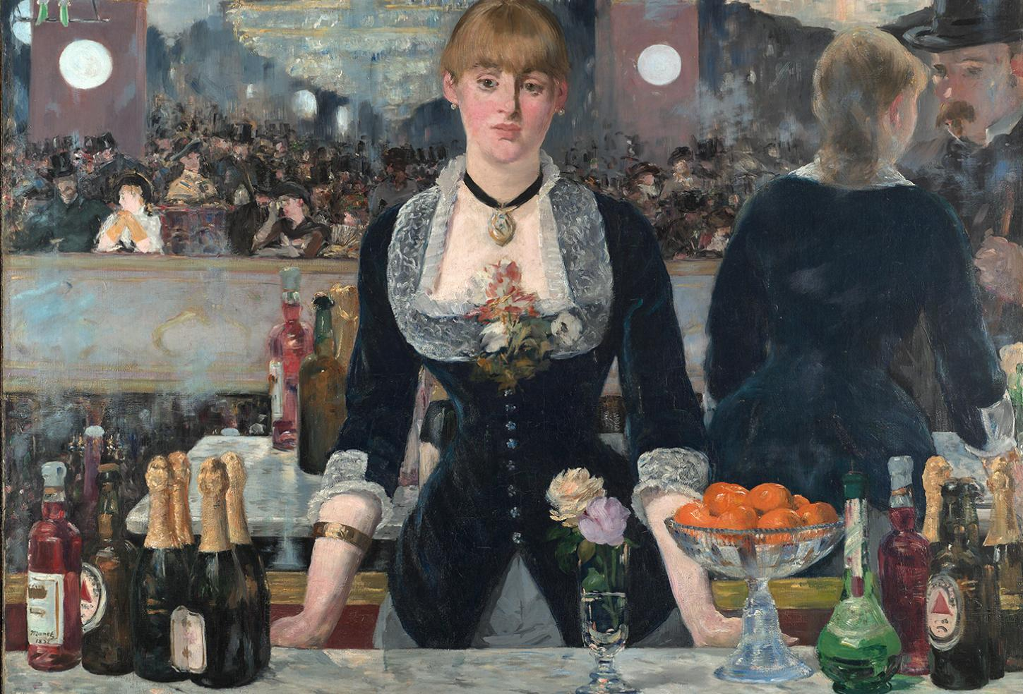 Edouard Manet (1832 – 1883), A Bar at the Folies-Bergère, 1882, Copyright: © The Samuel Courtauld Trust, The Courtauld Gallery, London