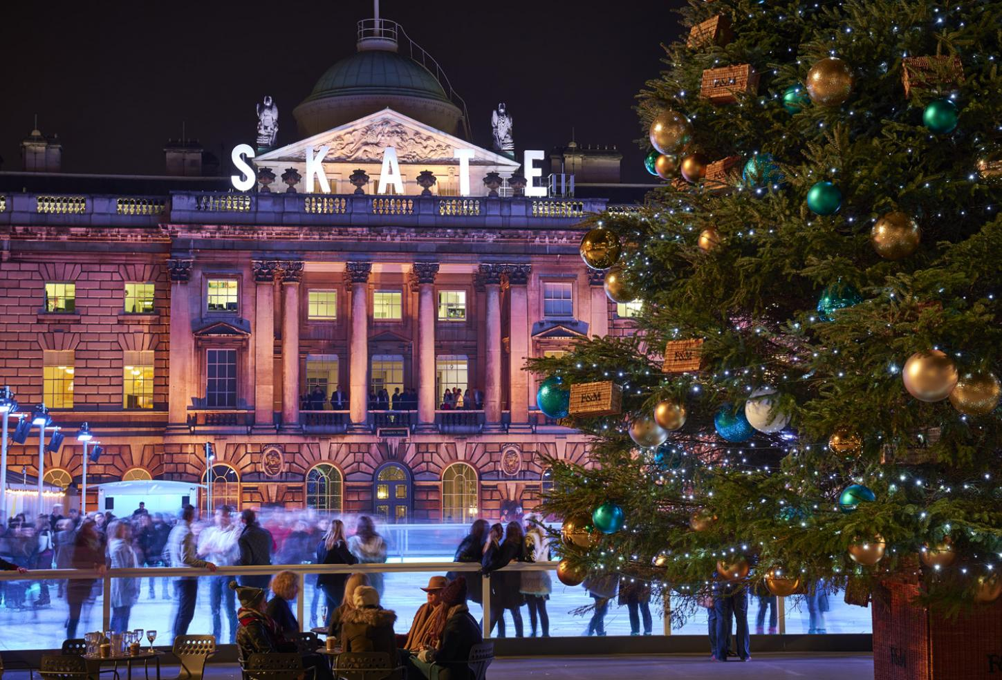 Times and tickets -Skate at Somerset House with Fortnum & Mason (c) James Bryant
