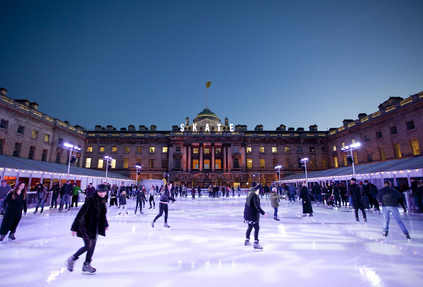 Skate at Somerset House with Fortnum & Mason - Ludovic des Cognets