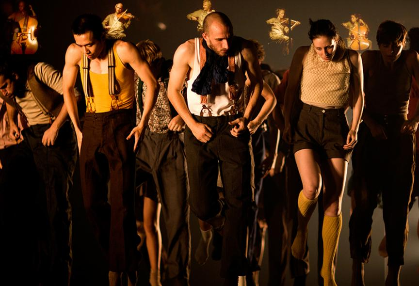 Hofesh Shechter Dance Company, Political Mother © Tom Medwell