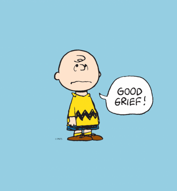 Charlie Brown Good Grief © Peanuts