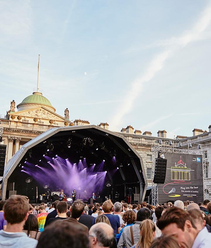 Summer Series at Somerset House with American Express, Image by Ben Peter Catchpole