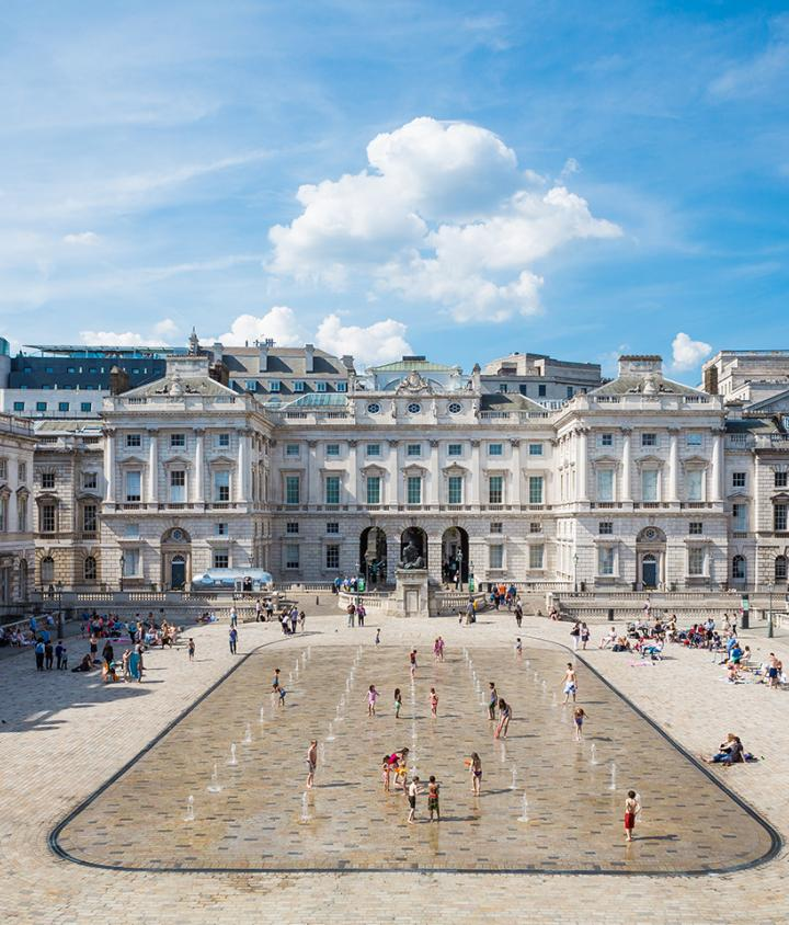 Plan your visit - The Edmond J. Safra Fountain Court, Somerset House, Image by Kevin Meredith