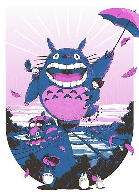 My Neighbour Totoro by Joe Wilson