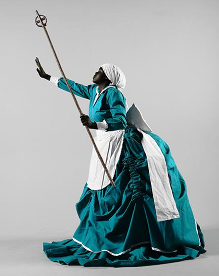 Mary Sibande  I Put A Spell On Me  2009  Archival Digital Print  90 x 60 cm  Ed. of 10