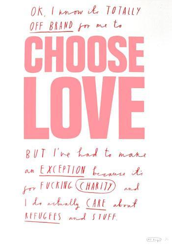 Mr. Bingo, Choose Love