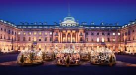 Winter Domes at Somerset House