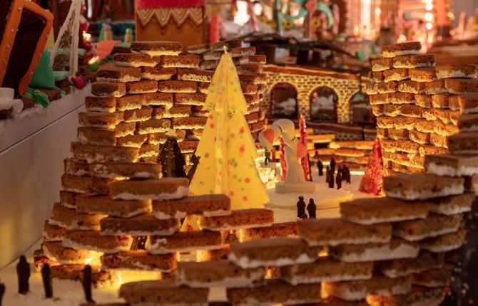 Gingerbread City - Image Luke Hayes