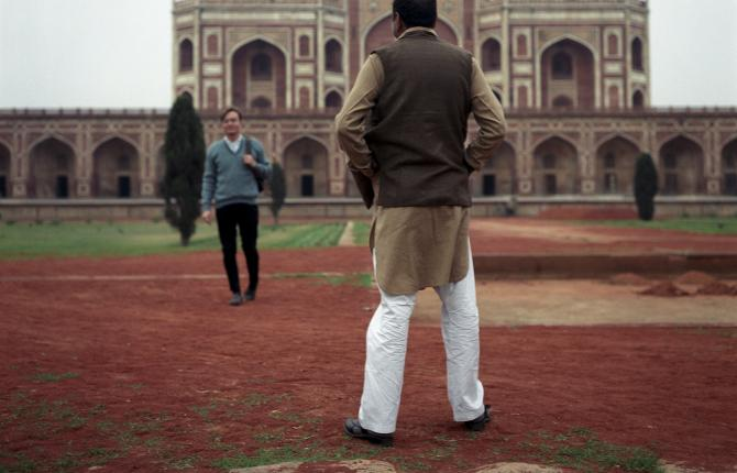 Sunil Gupta, Humayun's Tomb, from the series Exiles, 1987. Arts Council Collection, Southbank Centre, London © the artist.
